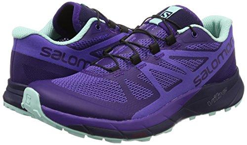 Salomon Women's Sense Ride Running Shoes, Purple, 6.5 M by Salomon (Image #5)