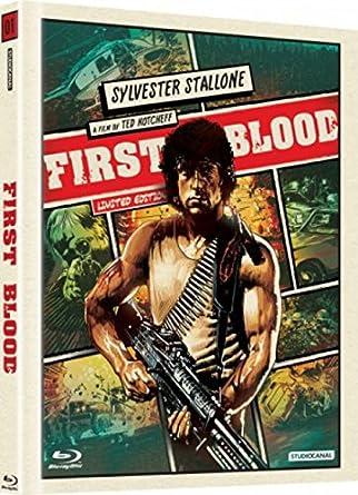Rambo 1 Digibook (First Blood) (Versión checa): Amazon.es: Cine y Series TV