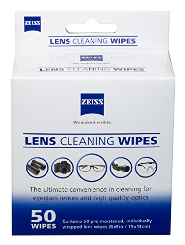 Used, Zeiss Pre-Moistened Lens Cleaning Wipes - Cleans Bacteria, for sale  Delivered anywhere in USA