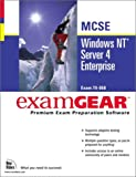 Bundle : Windows NT Server 4 Enterprise MCSE Examgear, Que Corporation Staff and Holmes, Dale, 0735708576