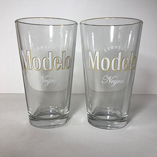 Modelo Negra - 16 Ounce Pint Glass - Set of 2