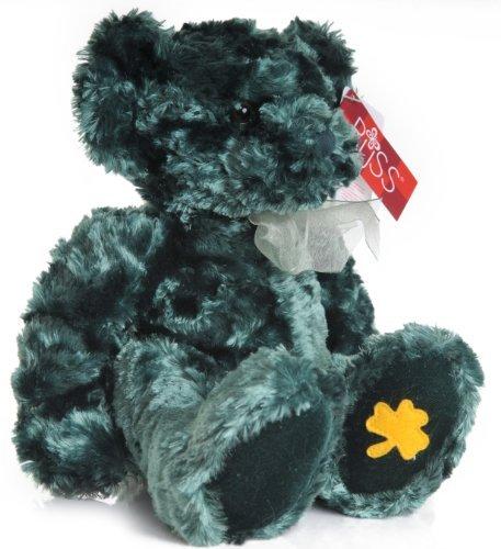 Russ Shiny Green soft plush Irish Bear called Blarney [Toy]
