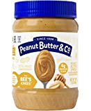 Peanut Butter & Co. The Bees Knees (Honey) Peanut Butter, Gluten Free, 16 oz Jars (Pack of 6)
