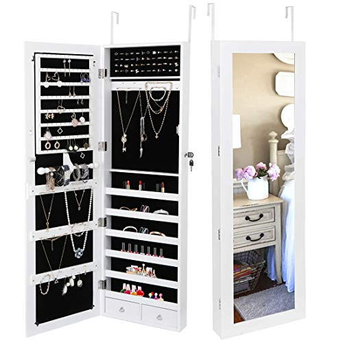 SUPER DEAL Jewelry Armoire