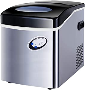 Portable Ice Machine Countertop, Ice Cubes Ready in 10 Mins, Compact Ice Make Machine, Perfect for Your Home