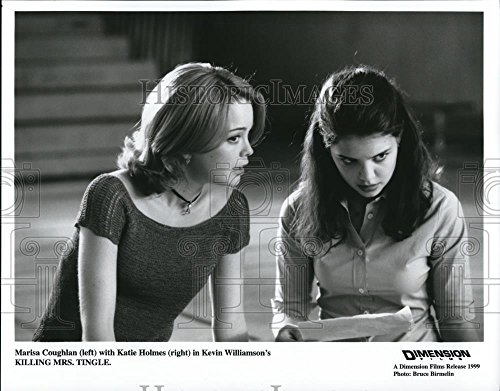 1999 Press Photo Marisa Coughlin Katie Holmes Killing Mrs Tingle - - And Katie Holmes Mother Father