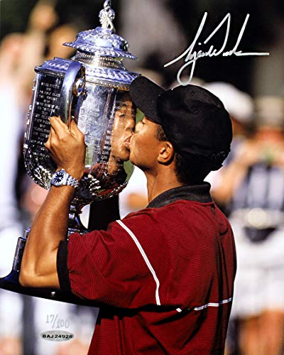 Tiger Woods Signed Autographed 1999 PGA Championship 8x10 Photo - Limited Edition