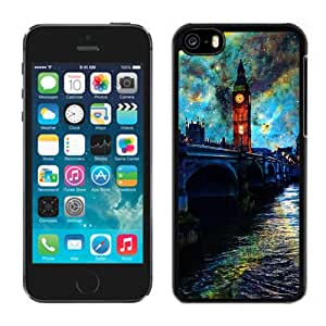 Fanasy Night In London Hard Plastic iPhone 5C Protective Phone Case