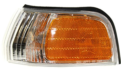 93 Honda Accord Corner (Evan-Fischer EVA20572013332 Corner Light for Honda Accord 92-93 Corner Lamp LH Assembly Left Side Replaces Partslink# HO2550107)