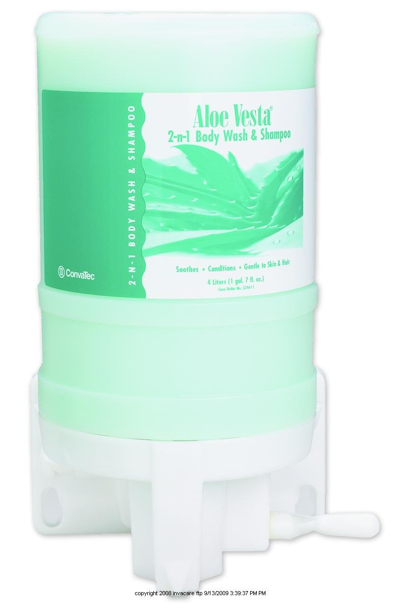 Aloe Vesta 2-n-1 Body Wash and Shampoo [ALOE VESTA 2N1 BDY WSH 4 LTR]