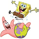 "9"" Patrick Star Starfish SpongeBob Squarepants Removable Peel Self Stick Adhesive Vinyl Decorative Wall Decal Sticker Art Kids Room Home Decor Girl Boy Children Bedroom Nursery Baby 9 x 7 Inch"