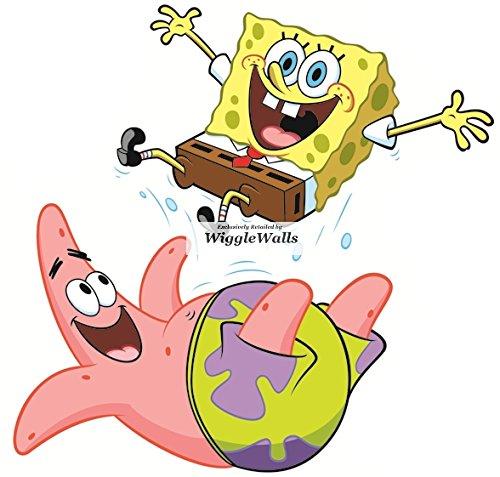 Patrick Star Starfish SpongeBob Squarepants Decal Sticker Art