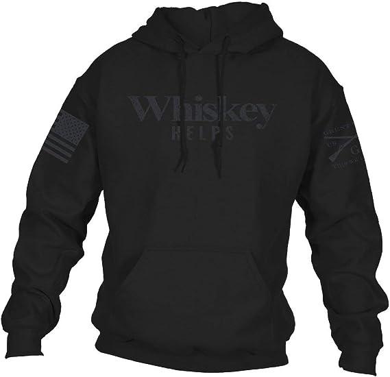 Grunt Style Whiskey Helps Men's Hoodie