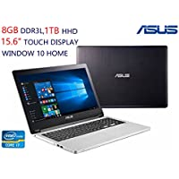 ASUS Notebook R554LA-RH71T (WX):15.6 2-in-1 HD Convertible Touchscreen, Intel Core i7-5500U ,8GB Memory, 1TB Hard Drive, Windows 10