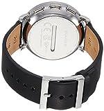 Skagen Mens 42mm Hagen Connected Black Leather Hybrid Smartwatch