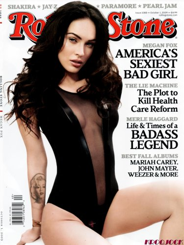 Mariah Carey Rolling Stone (Rolling Stone Issue # 1088 Oct. 1, 2009 Megan Fox, America's Sexiest Bad Girl)