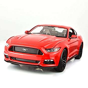 2015 Ford Mustang GT 5.0 Red 1/18 by Maisto 31197 by Maisto ...