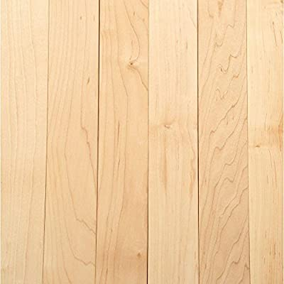 American Originals Country Natural Maple 3/4 in. x 2-1/4 in. x Random Length Solid Hardwood Flooring (20 sq. ft. / case)