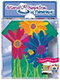 ThemeNaps Daisies 3D Stand Up Napkins, 16 Count