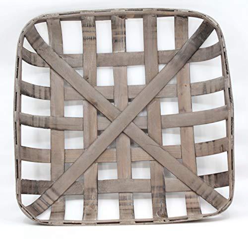 Silvercloud Trading Co. Tobacco Basket, Farmhouse Decor, Sml 17