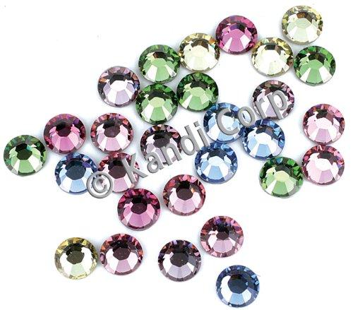 HotFix Swarovski Crystals 4mm-Light Mix 24/Pkg