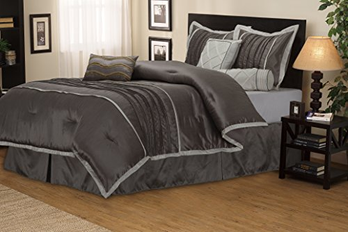 Impressions  7-Piece Luxurious Comforter  Set, Queen, Blakely