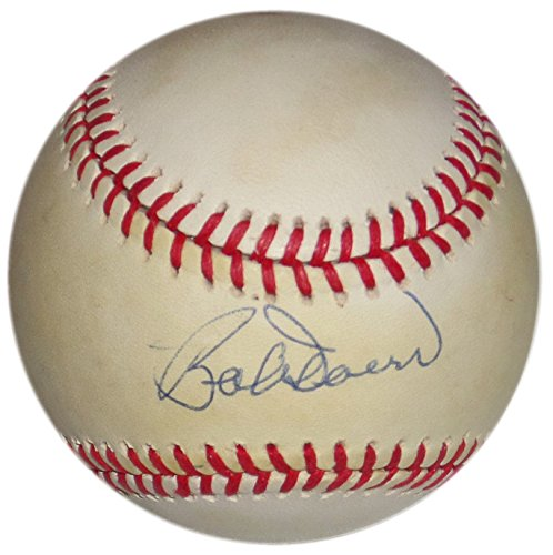 BOBBY DOERR SIGNED VINTAGE BOBBY BROWN OAL BASE BALL BOSTON RED SOX HALL OF FAME