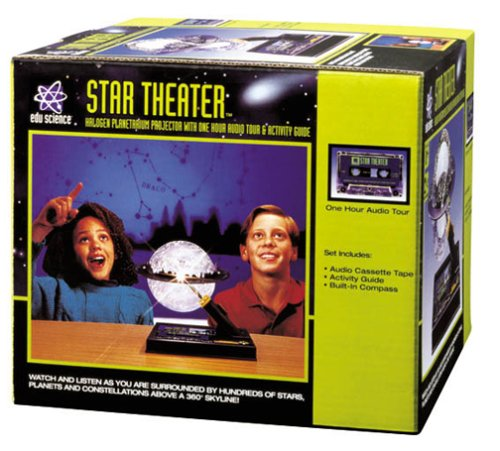 Edu Science Star Theater 2 Home Planetarium With Interactive Meteor Maker (Star Planetarium Theater Home)