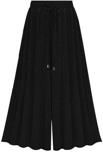 Pantalones Falda Mujer Verano Pantalon Anchos Moda Anchas Casual ...