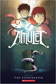 Image result for amulet volume one the stonekeeper