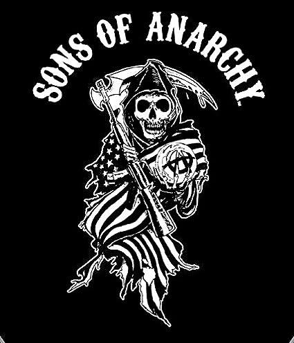Gemeinsame Amazon.com: Sons of Anarchy Reaper Flag Super Plush Throw Blanket &ZR_21