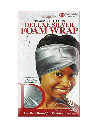 (PACK OF 12) DONNA PREMIUM COLLECTION DELUXE GOLD FOAM WRAP #22013