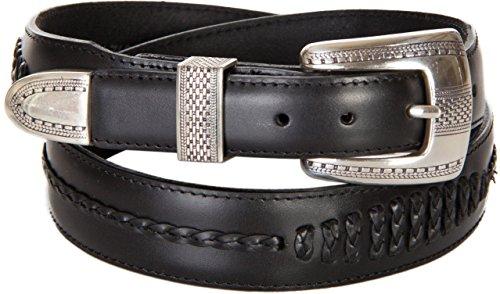 Brighton Men's Salina Taper Belt Black Belt 40