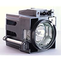 JVC PK-CL120U Projection TV Cage assembly with Original Projector Bulb Inside