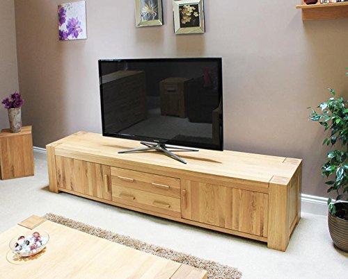 Baumhaus Atlas pantalla panorámica bajo mueble para televisor de ...