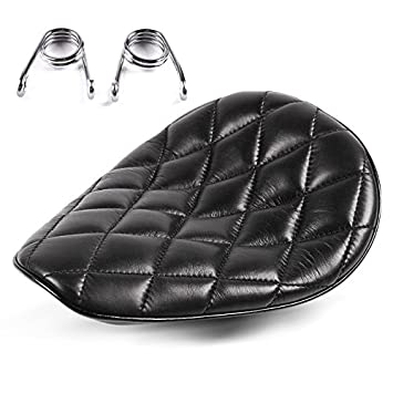 Solo Seat for Harley Davidson Street 750 with springs Craftride Diamond black