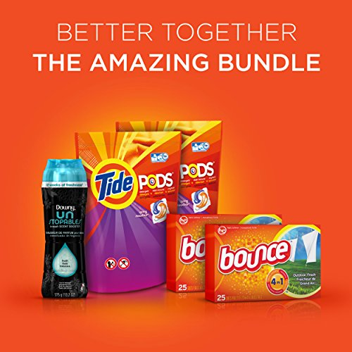 Tide Amazing Laundry Bundle (68 Loads): Tide PODS Laundry Detergent, Bounce Dryer Sheets and Downy Unstopables Beads