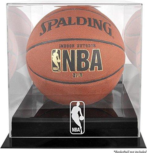Black Base Basketball Logo Display Case | Details: NBA
