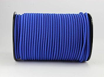 8mm PE monoflex Expanderseil 30m blau Gummiseil elastisches Seil für Plane Planen