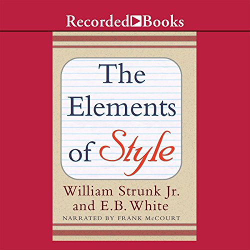 The Elements of Style (Recorded Books Edition) cover