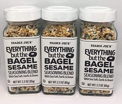 Trader Joe's Everything but the Bagel Sesame Seasoning Blend 2.3 Oz (2 Pack)