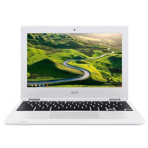 Acer NX.G85AA.003 Chromebook 11.6″ denim white CB3-131-C3KD Intel Celeron, 2GB, 16GB SSD