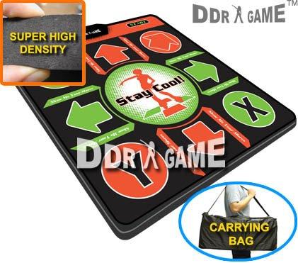 Dance Dance Revolution DDR Xbox Super High Density Foam Pad (V 3.0) W/ Carrying Bag