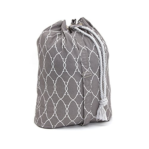 Filo Extra Heavy Duty Laundry Drawstring Duffle Bag, Storage Sisal Rope Bins, Baskets, Rope Woven Nursery Bins