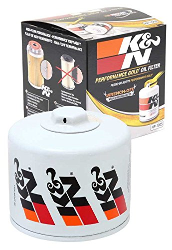 HP-1005 K&N Performance Oil Filter; AUTOMOTIVE (Automotive Oil Filters):