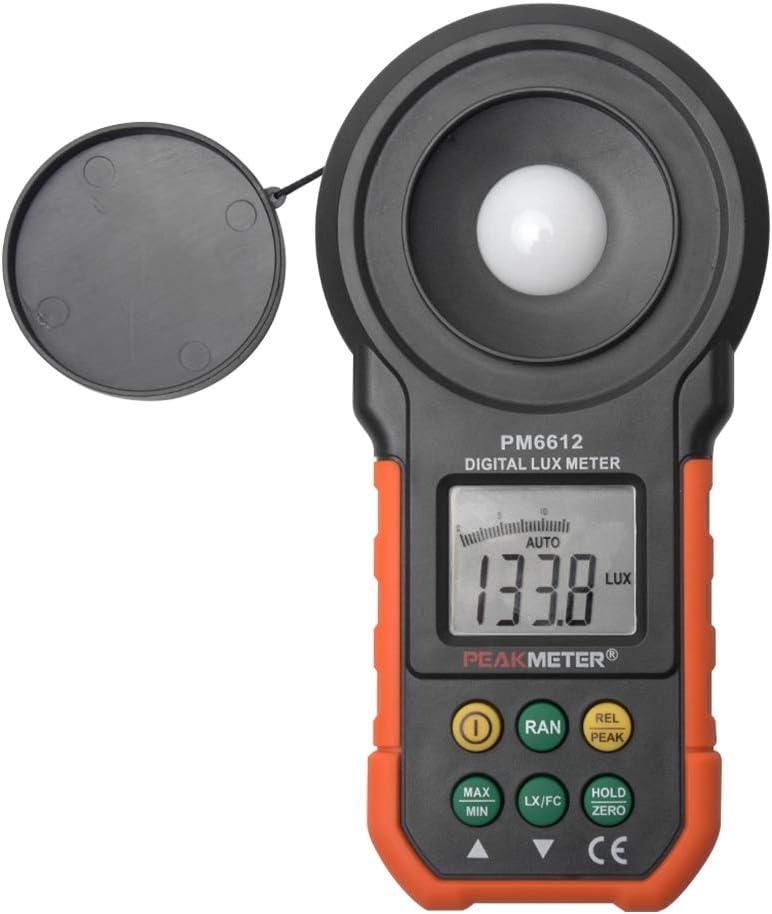 ABS Digital Lux Light Meter 2000 Counts 0-20000FC Lumenmeter Lux ...