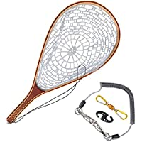 Goture Fly Fishing Landing Trout Net Catch Release Net -...