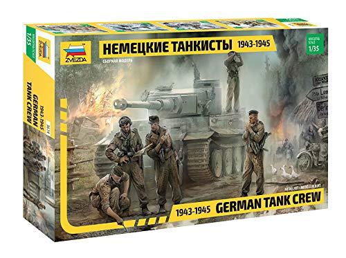 Zvezda Models 1943-1945 German Tank Crew