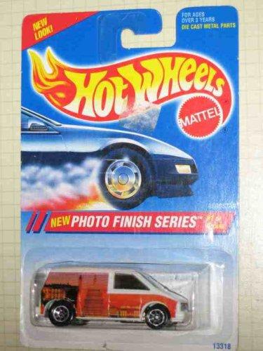 (Photo Finish Series #1 Ford Aerostar Washington D.C. Image 7 Spoke Wheels #331 Collectible Collector Car Hot Wheels )