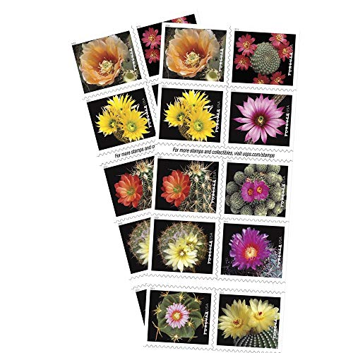 Cactus Flowers 2 Books Of 20 Forever First Class Usps Postage Stamps Celebration Wedding